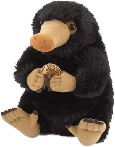 Мягкая игрушка нюхач Нюхлер с монетой (Fantastic Beasts Niffler Plush) черный