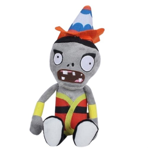 Мягкая игрушка Зомби в смешной шляпе (Plants vs Zombies) купить в России с доставкой