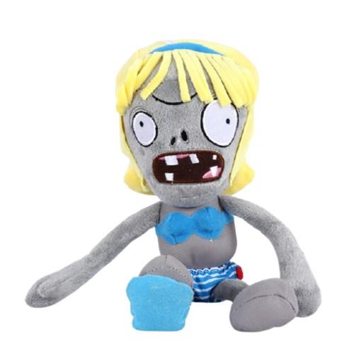 Мягкая игрушка Зомби девушка в купальнике Plants vs Zombies 30 См купить в России с доставкой