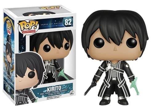 Фигурка Кирито Мастера меча онлайн (Funko POP Sword Art Online: Kirito) №82 купить