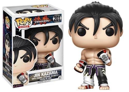 Funko Pop Tekken Jin Kazama Джин Казама с белыми аксессуарами - фото 10978