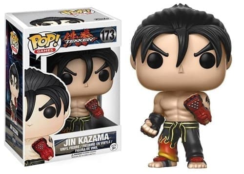 Funko Pop Tekken Jin Kazama / Теккен Дзин Кадзама с черными аксессуарами - фото 10983
