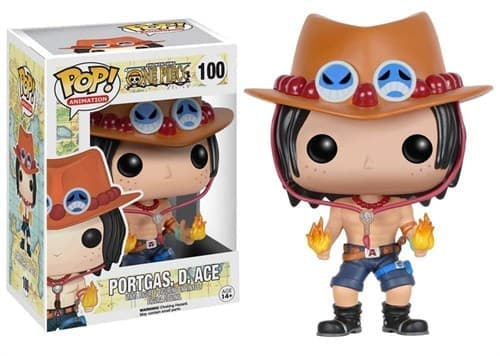 Фигурка Портгас Д. Эйс Ван Пис (Funko POP One Piece Portgas D. Ace Figure) №100 купить