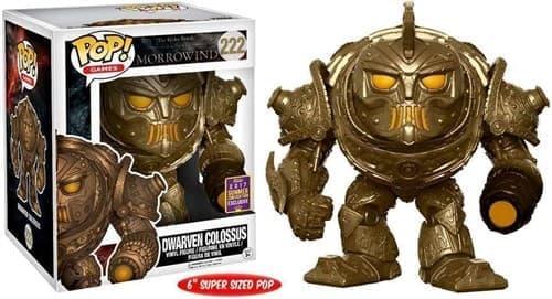 Dwarven Colossus Дварвен Колосас из игры The Elder Scrolls - фото 11057