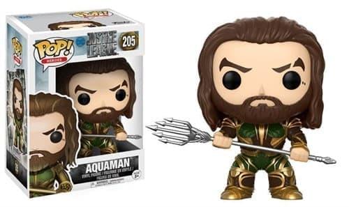 Фигурка Аквамен Лига Справедливости (Aquaman Justice League Pop) № 205 купить