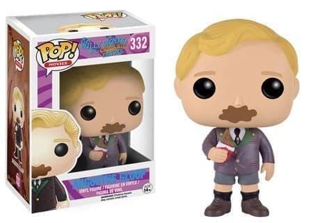 Willy Wonka Вилли Вонка funko Август Глуп - фото 11264
