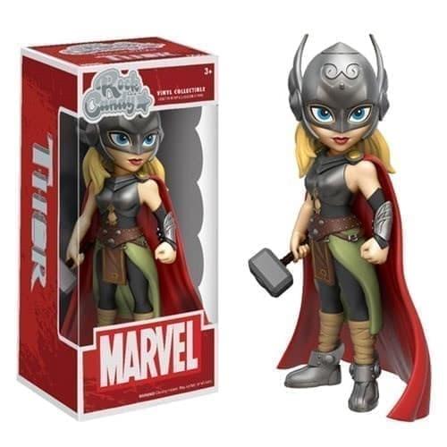 Фигурка Funko Marvel Rock Candy Lady Thor: Леди Тор - фото 11293
