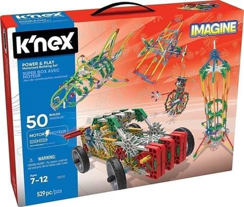 K'NEX Imagine: Power & Play 50 Model Motorized Building Set by K'NEX Brands - купить в Москве по тел +7 (499) 677-64-93 Цена на сайте super01.ru