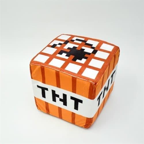 """Подушка """"Блок TNT"""" Minecraft 20х20 см купить в Москве"""