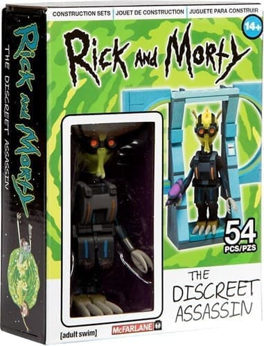 Громфломит Rick & Morty The Discreet Assassin конструктор купить в Москве