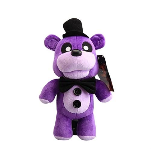 Плюшевая игрушка Пурпурный Фреди в шляпе 30 см из игры 5 ночей с Фредди купить