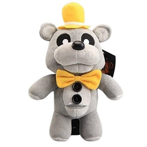 Плюшевая игрушка Серый Фреди в шляпе 30 см из игры 5 ночей с Фредди