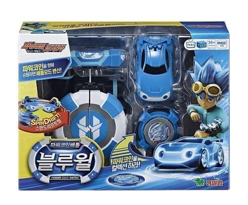 """Оригинал Игровой набор Джино автомобиль BlueWill-Лига WatchCar-Битвы чемпионов"""" - Сражение купить на Super01"""