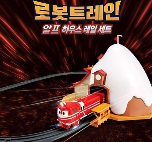 Игрушка Депо для Альфа из мультфильма Роботы-поезда на сайте Super01.ru