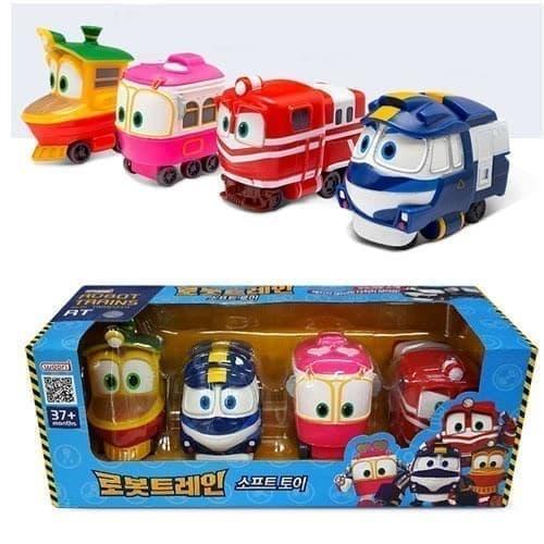 Набор игрушек из мультфильма Роботы-поезда на сайте Super01.ru