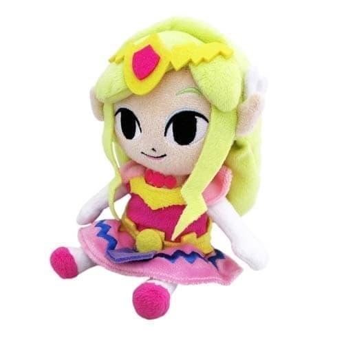 Фигурка Princess Zelda (Принцеса Зельда) с игры Легенда о Зельде (плюшевая) на сайте Super01.ru