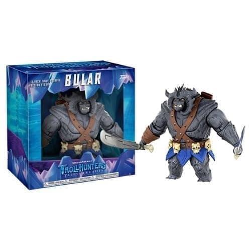 Двигающаяся Фигурка Булар Делюкс (Bular Deluxe) 30 см из мультика Охотники на тролей на сайте Super01.ru