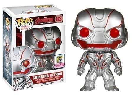 Фигурка Ухмыляющийся Альтрон Эксклюзив (Grinning Ultron ) с фильма Мстители - фото 13168