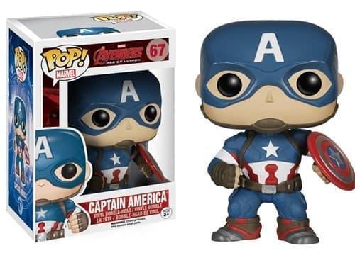 Фигурка Капитан Америка (Captain America) с фильма Мстители - фото 13170