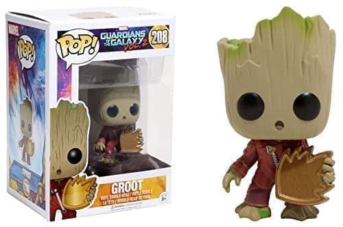 Фигурка Грут со щитом (Groot With Shield) из фильма Стражи Галактики № 208 - фото 13175