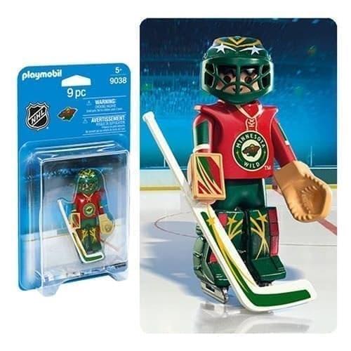 Двигающаяся фигурка NHL Вратарь Миннесота Уайлд - фото 13386