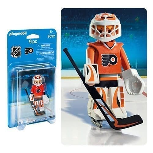 Двигающаяся фигурка NHL Вратарь Филадельфия Флайерз - фото 13387