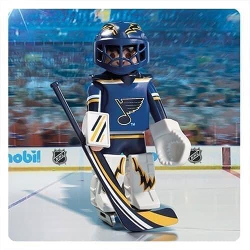 Двигающаяся фигурка NHL Вратарь Сент-Луис Блюз - фото 13392