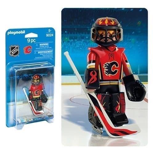 Двигающаяся фигурка NHL Вратарь Калгари Флэймз - фото 13393