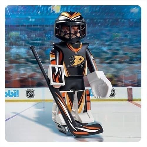 Двигающаяся фигурка NHL Вратарь Анахайм Дакс - фото 13394