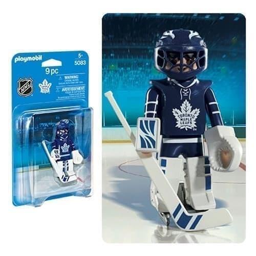 Двигающаяся фигурка NHL Вратарь Торонто Мейпл Лифс - фото 13399