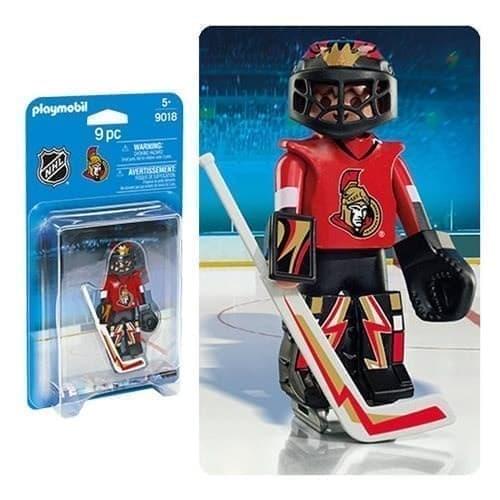 Двигающаяся фигурка NHL Вратарь Торонто Оттава Сенаторс - фото 13400