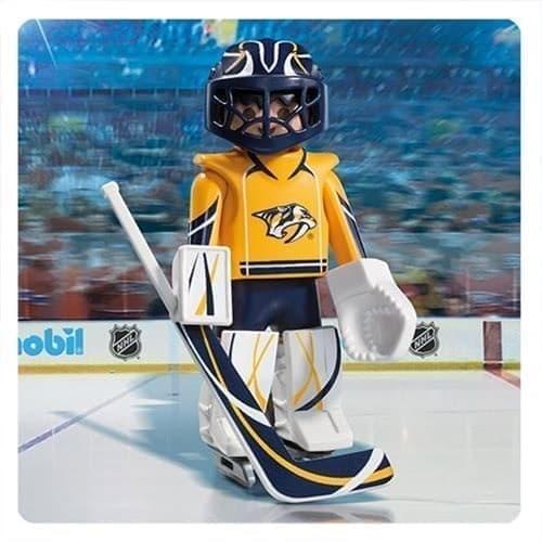 Двигающаяся фигурка NHL Вратарь Нэшвилл Предаторз - фото 13401