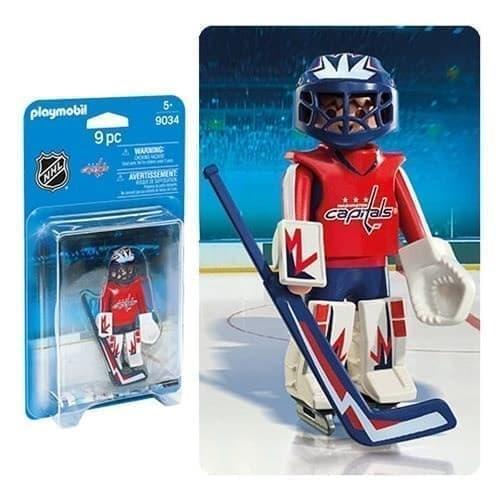 Двигающаяся фигурка NHL Вратарь Вашингтон Кэпиталз - фото 13403