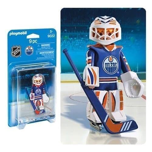 Двигающаяся фигурка NHL Вратарь Эдмонтон Ойлерз - фото 13404