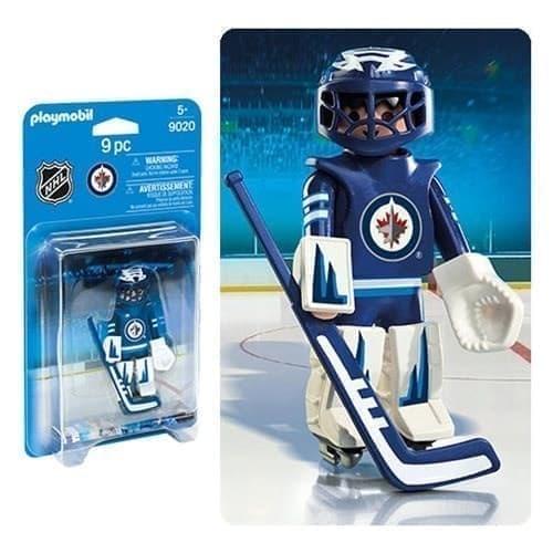 Двигающаяся фигурка NHL Вратарь Виннипег Джетс - фото 13406