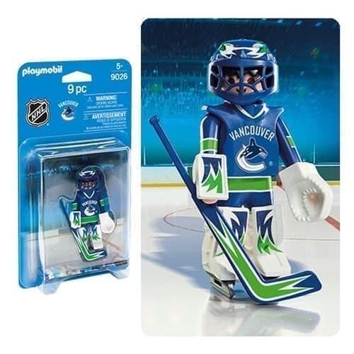 Двигающаяся фигурка NHL Вратарь Ванкувер Кэнакс - фото 13407