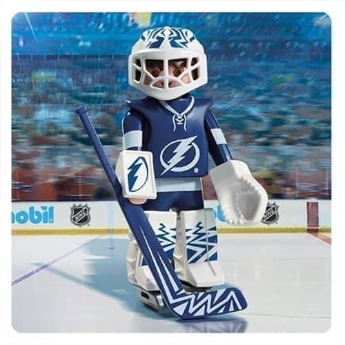 Двигающаяся фигурка NHL Вратарь Тампа-Бэй Лайтнинг - фото 13410