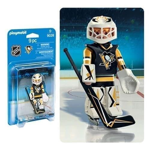 Двигающаяся фигурка NHL Вратарь Питтсбург Пингвинз - фото 13411