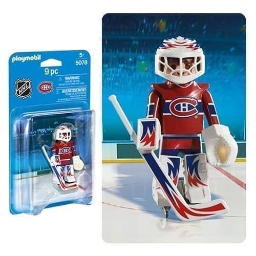 Двигающаяся фигурка NHL Вратарь Монреаль Канадиенс - фото 13412