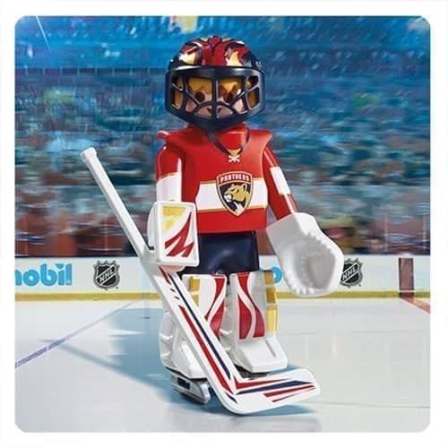 Двигающаяся фигурка NHL Вратарь Флорида Пантерс - фото 13414