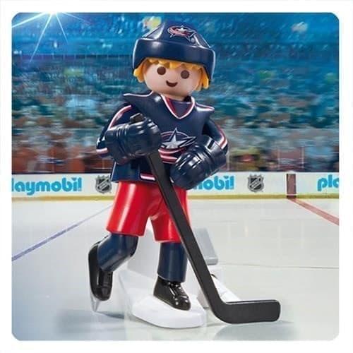 Двигающаяся фигурка NHL Игрок Коламбус Блю Джекетс - фото 13418