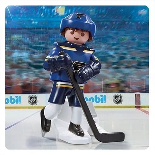 Двигающаяся фигурка NHL Игрок Сент-Луис Блюз - фото 13420