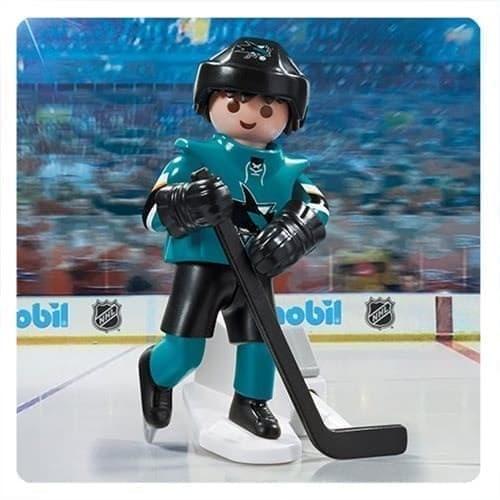 Двигающаяся фигурка NHL Игрок Сан-Хосе Шаркс - фото 13424