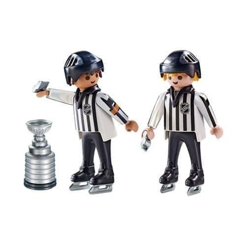 Двигающаяся фигурка NHL рефери и Кубок - фото 13435