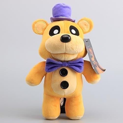 Плюшевая игрушка Золотой Фреди в шляпе 30 см из игры 5 ночей с Фредди купить