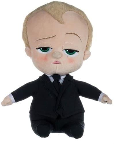 Плюшевая игрушка Босс Молокосос в костюме 20 см купить