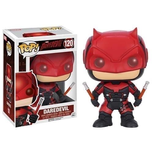 Фигурка Сорвиголова в красном костюме POP (Daredevil Red Suit) из Сорвиголова - фото 13499
