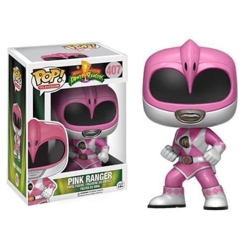 Фигурка Розовый Рейнджер (Pink Ranger Power Rangers Pop) №407 купить