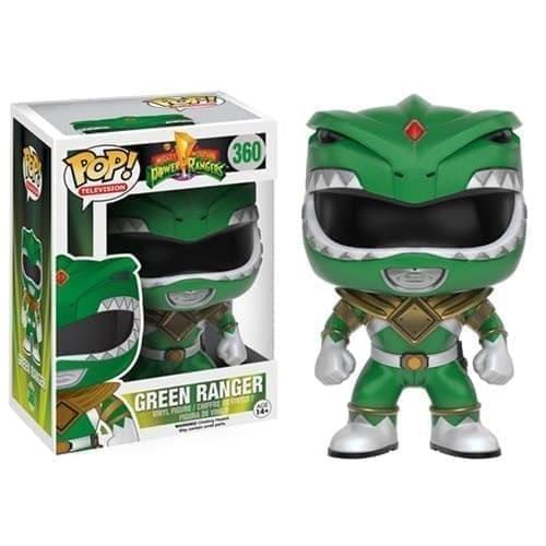 Фигурка Зеленый Рейнджер (Green Ranger) из сериала Power Rangers (Могучие Рейнджеры) - фото 13538