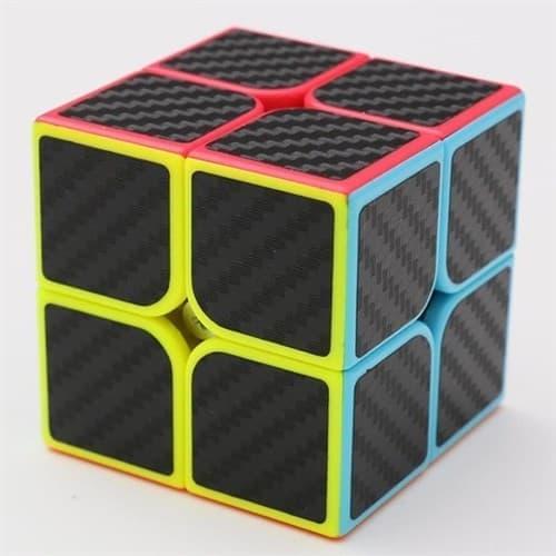 Головоломка Кубик Z CUBE 2*2 Карбон - фото 13605